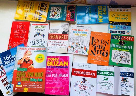 Sách dạy kĩ năng học nhớ nhanh